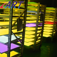 super thin aluminum sheet led panel light home lighting high power rgb panel lights