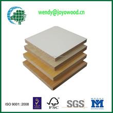 medium density fiberboard MDF plain and melamine faced E2 GLUE