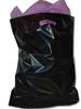 solid color plastic bag boutique shopping bags