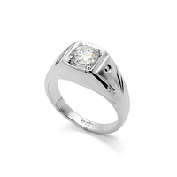 fine jewelry men's ring crystal wedding ring with diamonds