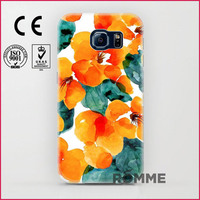 High Quality Phone Cases Printed On The Back And Sides 2015 new design for samsung galaxy s6 mobile case cover wholesale
