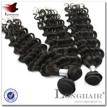 Remy Deep Wave Peruvian Hair Super Remy Human Hair Extension 16 Inches