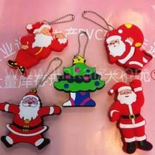 gift usb stick 8GB 3D pvc christmas santa usb flash drive 4gb 8gb