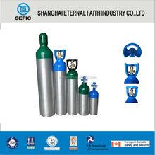 DOT TPED Material Aluminium 1L-50L freon gas cylinder Empty Gas Cylinder Industrial Aluminum Cylinder