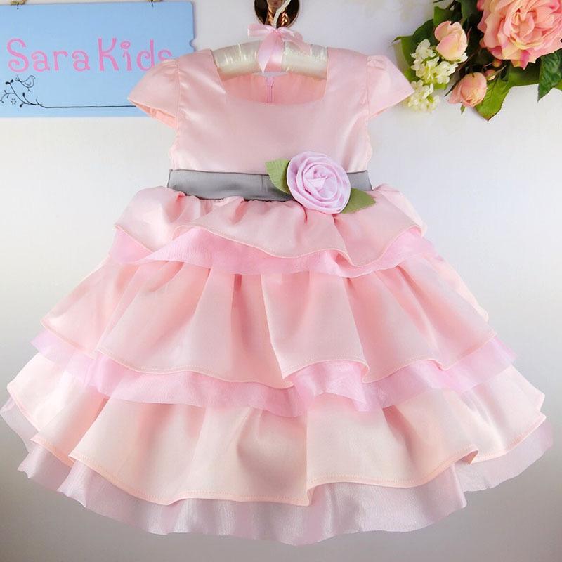 Dorable Vestidos De Fiesta Para Los Bebés Primer Cumpleaños Patrón ...
