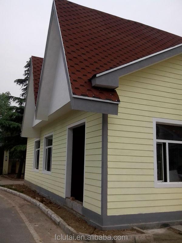 Wood Grain Fiber Cement Calcium Silicate Exterior Wall Cladding Texture Paint Heat Insulaion