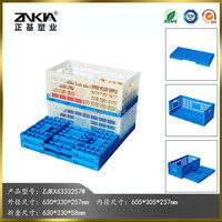 Egg packaging crate with PP plastic material