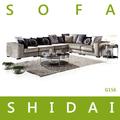 Modern sofá de canto grande/sofá de grande porte/cores misturadas sofá conjuntos g156