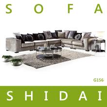 modern big corner sofa / big size sofa / mixed colours sofa sets G156
