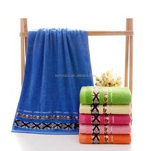 wholesale fashion embroidery luxury quality bath towel 100% cotton