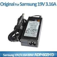 Factory price laptop charger For Samsung 19V 3.16A power adapter/cargador