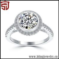 Cheap New Products Silver Ring Custom Made