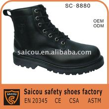 Stahlzehepolizeisicherheits-Schuhfabrik (SC-8880)