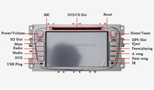 Car Stereo for Ford Focus Mondeo GPS Navigation DVD Auto Radio Headunit Satnav 3G WIFI IPOD BT SWC AUX USB/SD AM/FM MP3/MP4