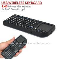 2.4G mini wireless keyboard for samsung smart TV Box Mobile Phone Smart Phone Wireless touchpad silicone mini keyboard