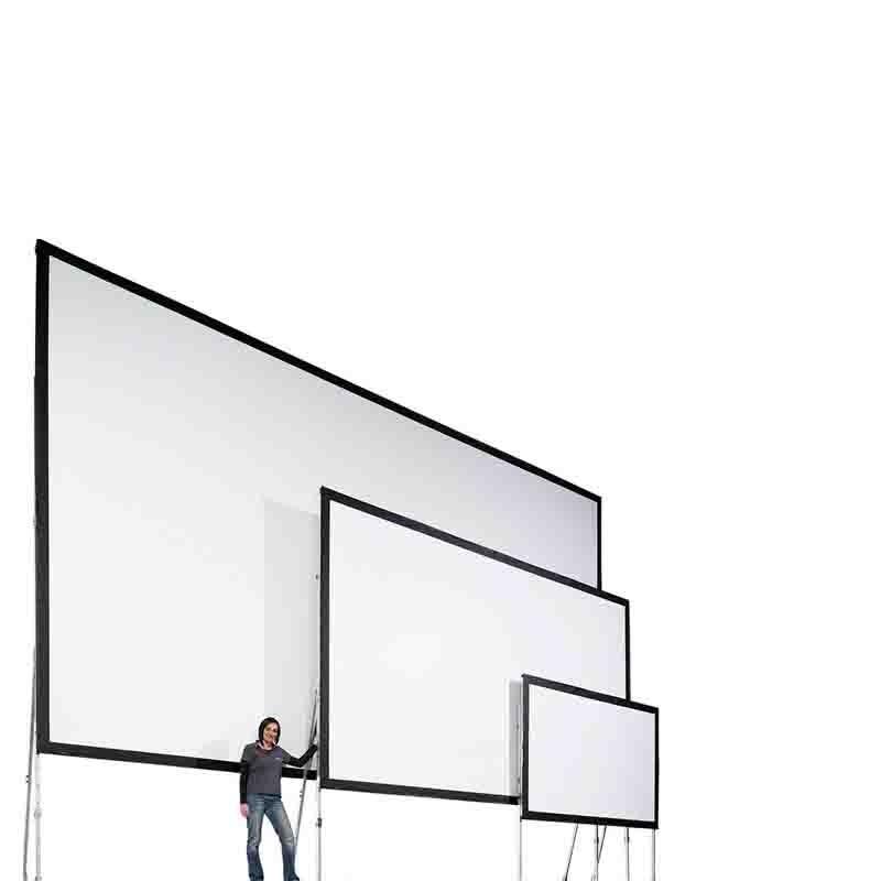pvc tissu avant et arri re cran de projection 200 pouces diagonal 16 9 zone d 39 affichage. Black Bedroom Furniture Sets. Home Design Ideas