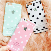 Wave Point Pattern TPU Cell Phone Case For iPhone 5,Soft TPU Mobile Phone Case for iPhone 5S,Back Cover Case For iPhone 5
