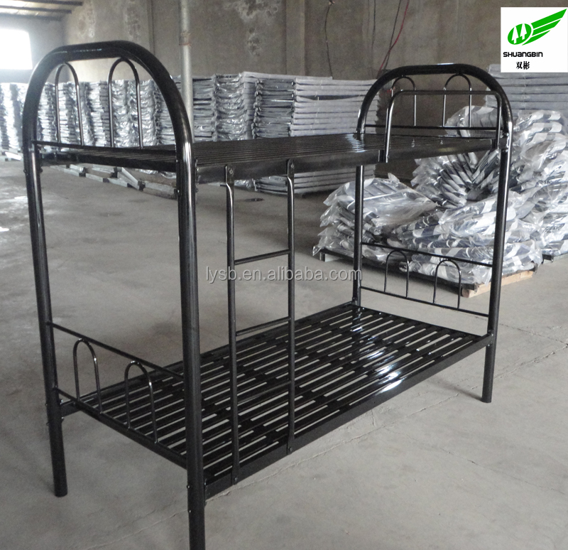 Steel Furniture Bed : Steel Beds Double Bed Labour Camp Bunk Bed - Buy Labour Bunk Bed,Metal ...