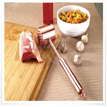 2015 Meat Tools Aluminium Alloy Mean Hammer Stainless Steel Professional Meat Tenderizer Pounder