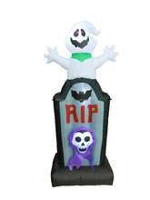 2015 5ft inflatable Halloween decoration ghost with tombstone