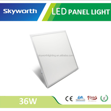 Skyworth Famous Brand Ultra Thin Shenzhen-made Office/Meeting Room Samsung chip square surface mounted 600x600 led panel light