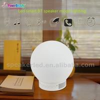 2015 promotion active mp3 audio music mini waterproof wireless desk reading lamp bluetooth dj speaker