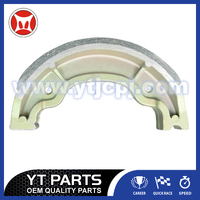 Motorcycle YBR125 Brake Shoes OEM Parts For Chinese Scooter