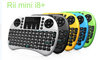 2015 new 2.4Ghz wireless colorful i8+ mini keyboard with touchpad