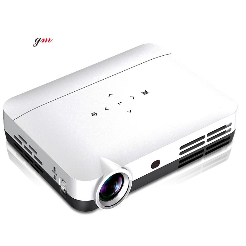 GM-WH806 fabrik günstigste mini LED pocket projektor mit WIFI und Bluetooth für den heimgebrauch, business oder unterhaltung