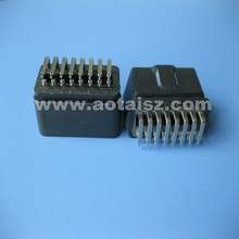 OBDII Curved needle connector obd original plugs obd2 16 pin connector