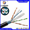 Direct burial Solid Network Lan Cable 1000FT FTP CAT6 Outdoor Rated Cat6