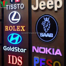 Outdoor illuminated channel Letter