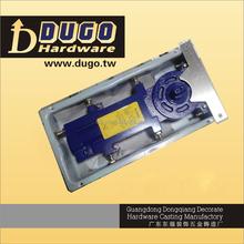 High Quality Glass Door Accessories ,Double Action Hydraulic Floor Hinge, Floor Closer For Tempered Glass Door DUGO K-8300