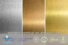 Powder coating paint spray on metal product and surface