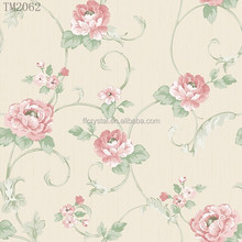 Spring Style Non woven Wallpaper for Home Decoration TM2062(0.53*10m)