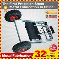kindle 2014 new durable folding professional customized shopping pull cart for sale
