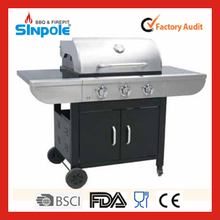 2015 New Patent Sinpole Star Hotel Kitchen Gas Barbecue Grill