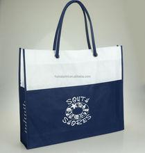 Custom silk screen printing non woven bag/ recycle pp non woven shopping bag