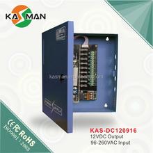 import china goods KASMAN KAS-DC120920 digital camera/ security camera 9-CH 12v power supply