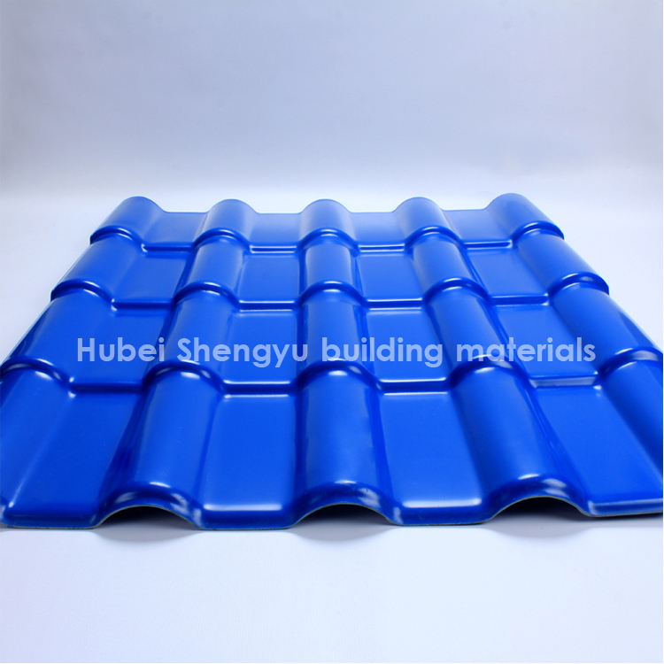 anti corrosion plastic roof tile of UPVC material