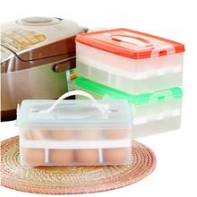 Pequeño MOQ buena calidad bandeja de huevos de plástico refrigerador