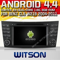 WITSON ANDROID 4.4 DVD HEAD UNIT FOR MERCEDES-BENS CLS W219 2004-2011 WITH RAM 8GB FLASH RDS STEERING WHEEL SUPPORT