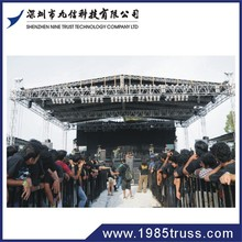 economic easy install concert stage truss spigot event truss