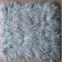 Mongolian sheep fur skin long haired sheep fur skin