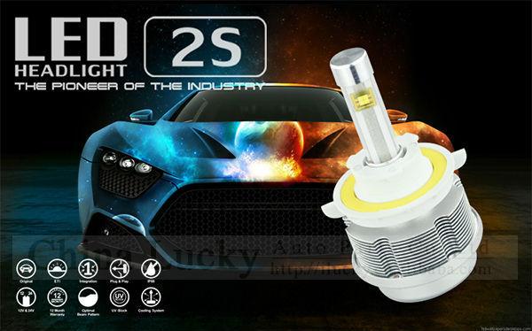 방수 ip68 3600lm LED 헤드 라이트 키트에 교체하기위한 전구를 할로겐과 HID 전구