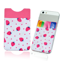 Silkscreen print smartphone accessory wallet mobile phone case
