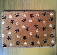 Popular unique terry cloth bath mats
