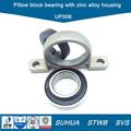 Carcasa de aleación de Zinc pillow block bearing UP006