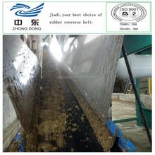agricultural conveyor belt for manure alkali resistant conveyor belt