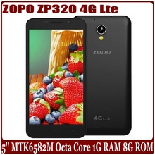 ZOPO Android 4.4 MT6582M Quad Core 4G LTE Mobile Phone